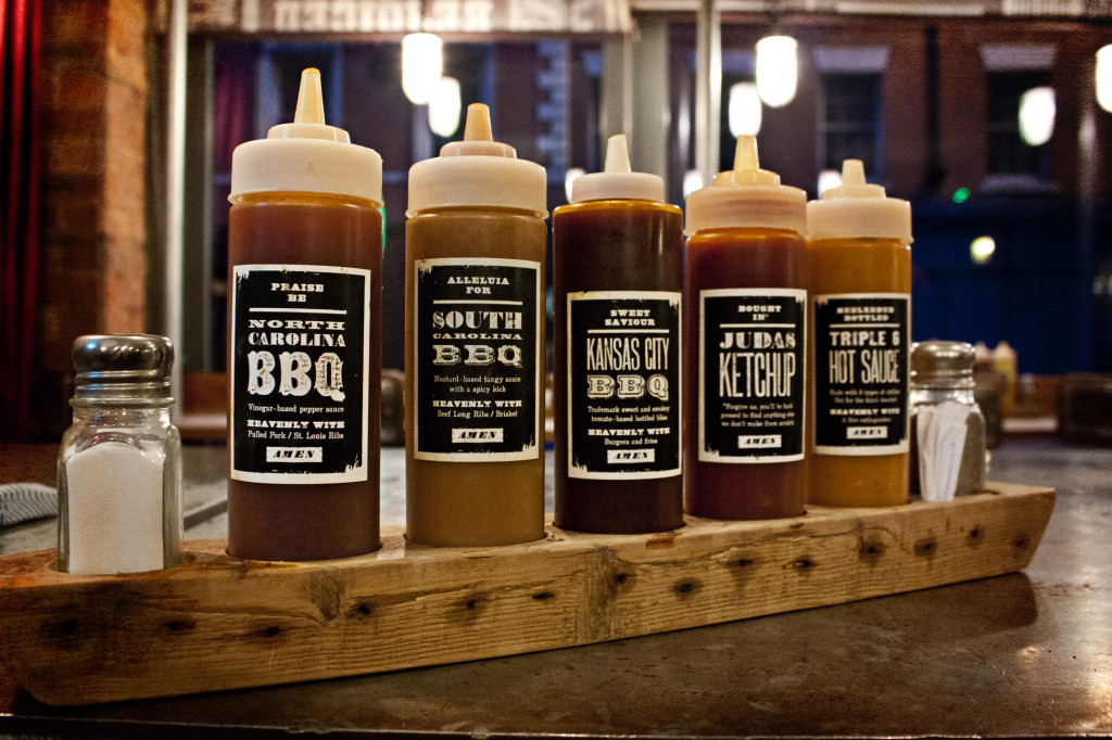 Red's BBQ sauces