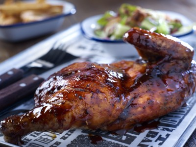 BBQ CHICKEN &#8211; HALF
