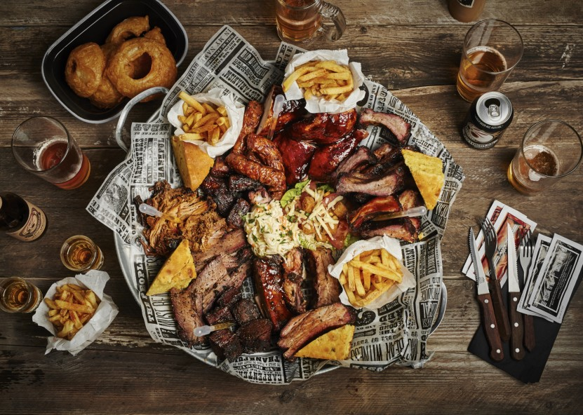Share the true barbecue love with a feasting plate