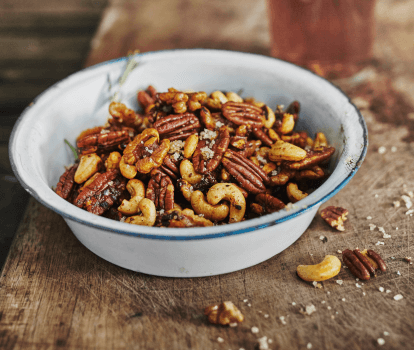 Recipe: Smoked, candied beer nuts