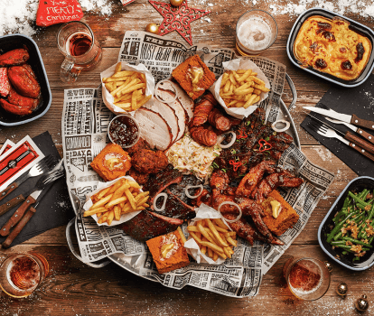 Red's True Barbecue Christmas Feast