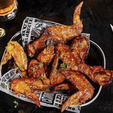 XXXL Pit Smoked BBQ Wings