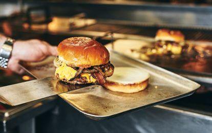 Perfect burger patty