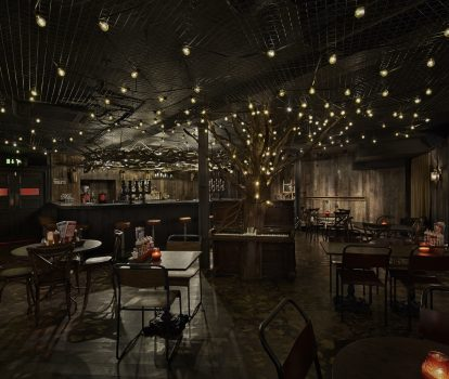 The Woods - Downstairs At Red's True Barbecue London's most unusual bars