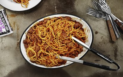 Recipe: BBQ Meat Spaghetti