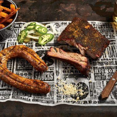 St. Louis Ribs & Smoked Sausage
