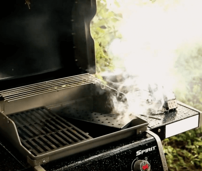 How to turn your gas bbq into a smoker