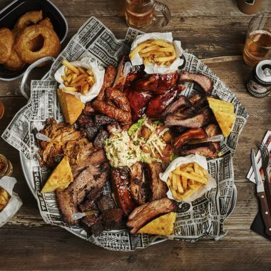 True BBQ Feast for 4