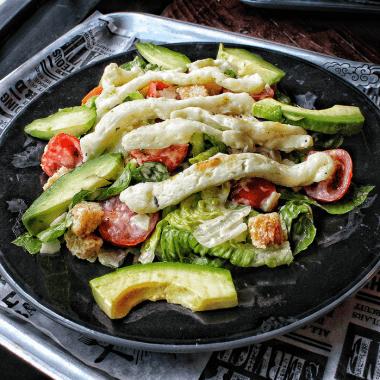 Halloumi Caesar Salad