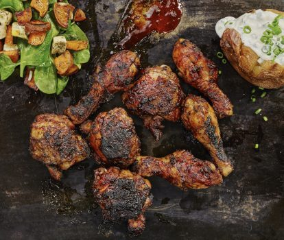 Recipe: Ridiculously Juicy Grilled Chicken on the Bone