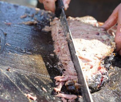 Day #5 Houston Rodeo: Brisket Testing