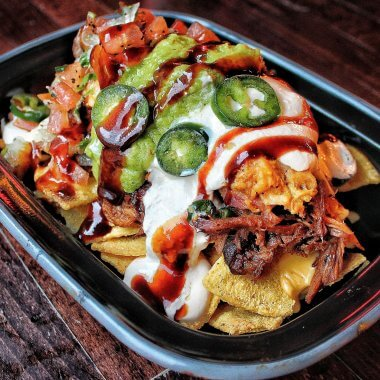 Pulled Meat Nachos