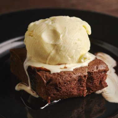 Honey & Bourbon Brownie