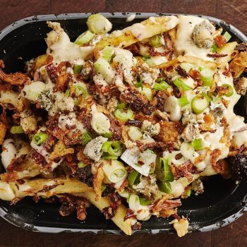 July is brisket month.  Celebrate with a free Black & Blue fries upgrade on all BBQ Trays (Mon – Wed)  You'll need to sign up > link in bio!