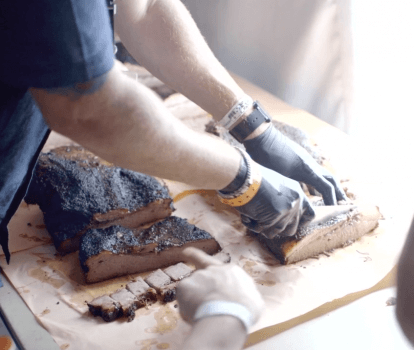 Video #4, Houston 2017: Brisket Testing Day