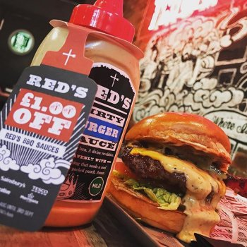 All week, buy any of our heavenly burgers and be blessed with a free bottle of Dirty Burger Sauce. Home worship will never be the same…Photoprops: @shaunogrady_