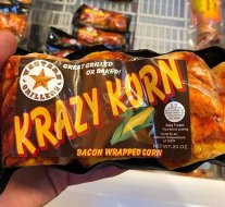 Who'd take down some bacon-wrapped corn? New sides idea…