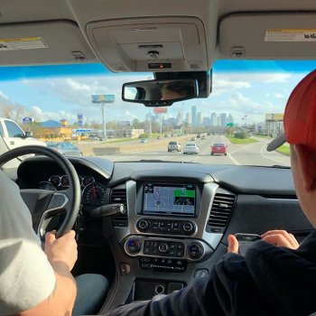 Believers, we've touched down in Texas for the World's Bar B Que Competition. We'll keep you updated on our progress in this invite-only contest all week. Alleluia!