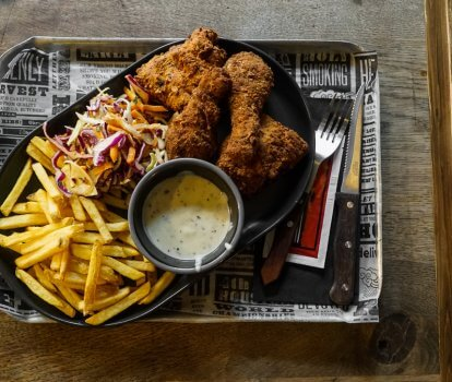 Smoked Fried Chicken: A special for November