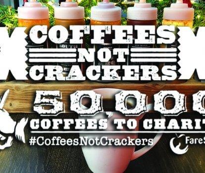 #CoffeesNotCrackers