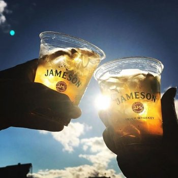 We're celebrating St Patrick's Day this Sunday March 17th and hoping the sun comes out! Join us as we raise a toast to our Irish friends with a @jamesonwhiskey Ginger and Lime.